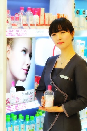 BIODERMA in OLIVE YOUNG 清潭駅店(ビオデルマ in オリーブヨン)(ソウル)