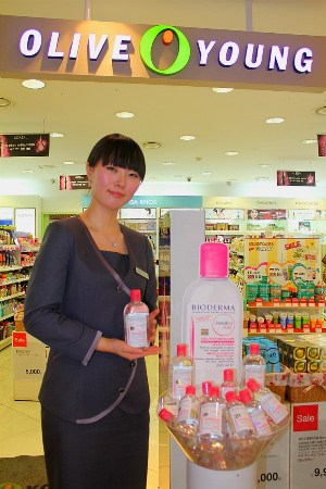 BIODERMA in OLIVE YOUNG 東大門DOOTA店(ビオデルマ in オリーブヨン)(ソウル)