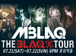 MBLAQ(エムブラック)THE BLAQソウル公演