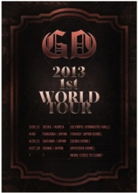 "G-DRAGON/ジヨン 韓国ソロコンサート""G-DRAGON 2013 WORLD TOUR : ONE OF A KIND "" /2013年3月30・31日 2DAYS"