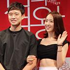チョン・ジョンミョン、キム・ミンジョン主演の映画『夜の女王(原題)』製作発表会
