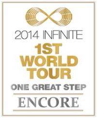 2014 INFINITE 1st WORLD TOUR [ONE GREAT STEP] ENCORE