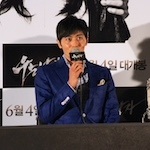 チャン・ドンゴン『泣く男(原題)』メディア試写会
