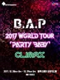 B.A.P(비에이피)B.A.P 2017 WORLD TOUR [PARTY BABY CLIMAX]