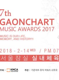 2018第7回GAONCHART MUSIC AWARD