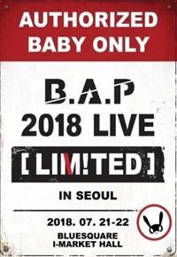 B.A.P 2018 LIVE LIMITED in SEOUL