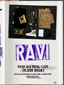 VIXX RAVI 3rd REAL-LIVE R.OOK BOOK