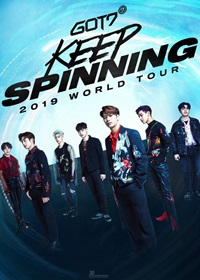 GOT7 2019 WORLD TOUR KEEP SPINING