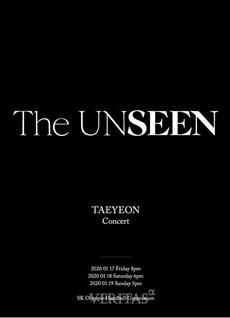 少女時代TAEYEON CONCERT – 「THE UNSEEN」