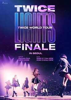 TWICE WORLD TOUR TWICELIGHTS in Seoul